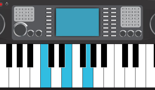 Piano virtual piano chords : Videos, Music, Websites and Graphics